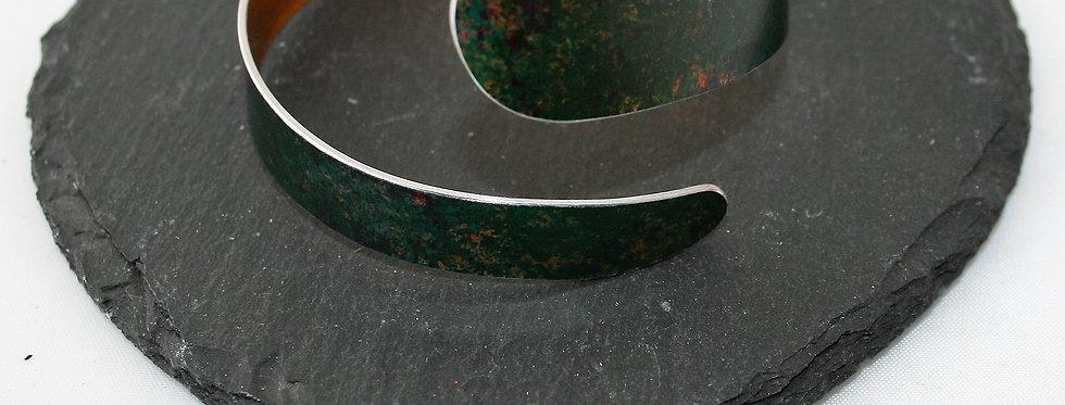 Miranda Peckitt Aluminium Bracelet, Green