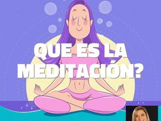 1. ¿Qué es la meditación?
