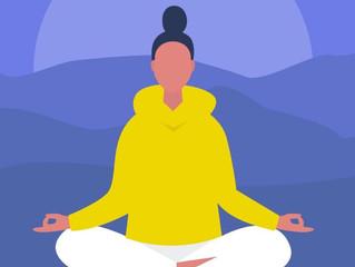 3. Selecciona ropa cómoda para meditar.