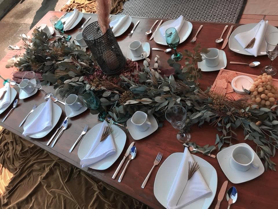 Renta de mesas bajas
