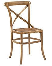 Renta de sillas crosback DF