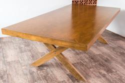 Mesas de madera para bodas