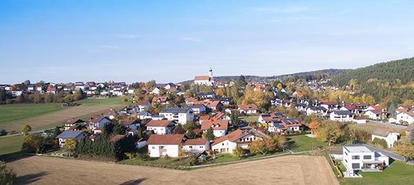 Luftaufnahmen Gemeinde