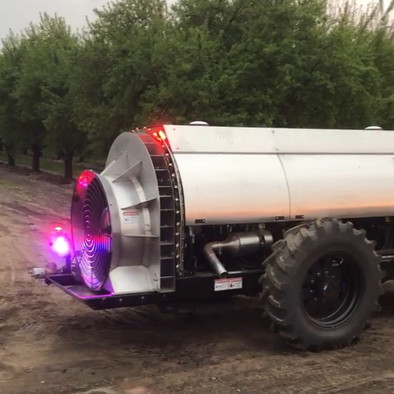 Autonomous Sprayer for Pest and Fertility