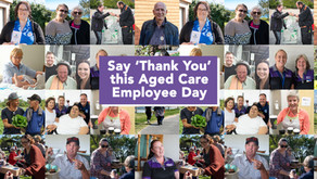 Say 'Thank You' this Aged Care Employee Day