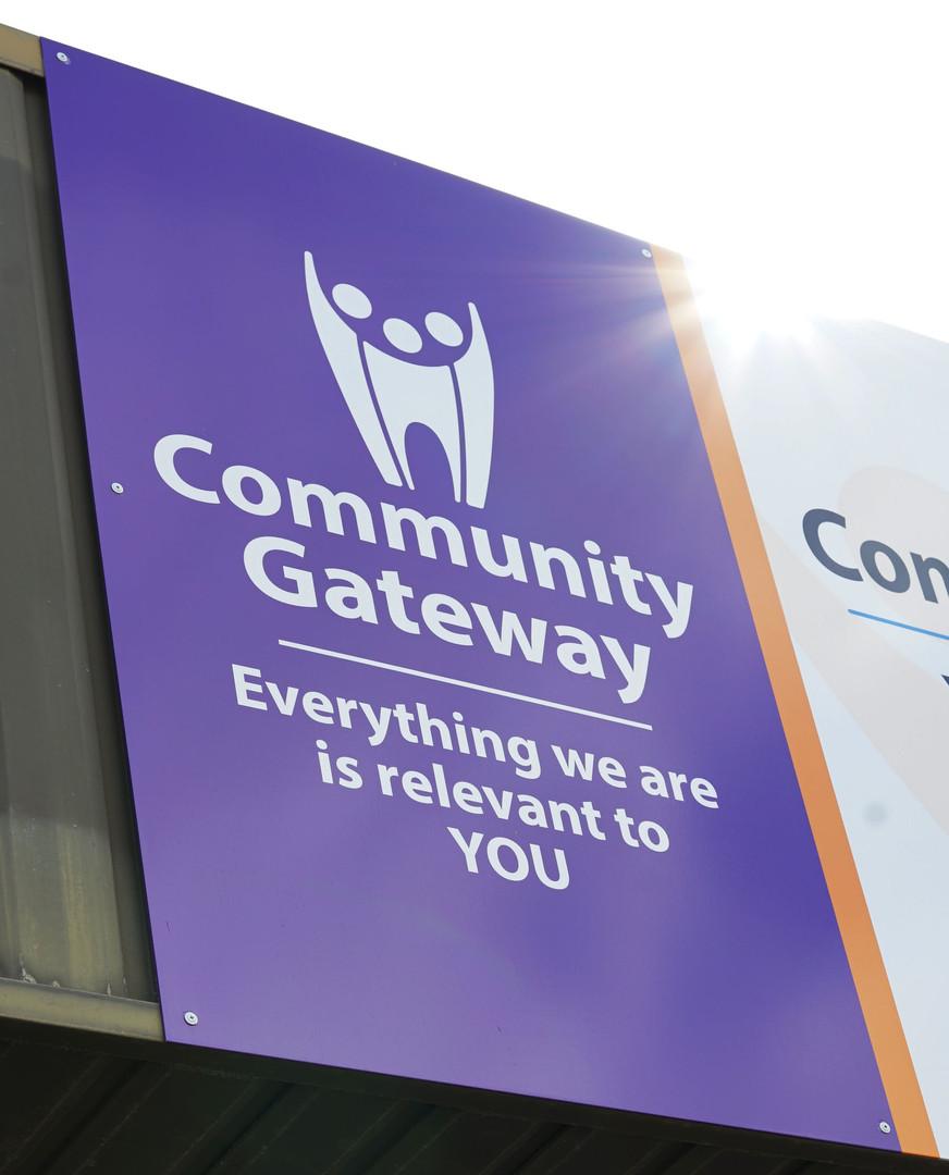Community Gateway Signage