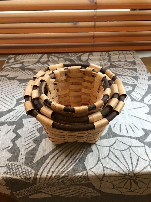 Nesting Round Basket