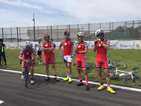 昨日の自転車レース