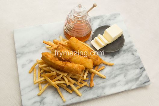 Fish & Chips: Wild Cod Fish served with golden Fries