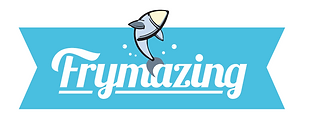 Frymazing Logo, Link to go to Home Page