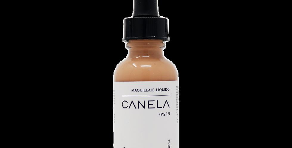 CANELA -maquillaje líquido-
