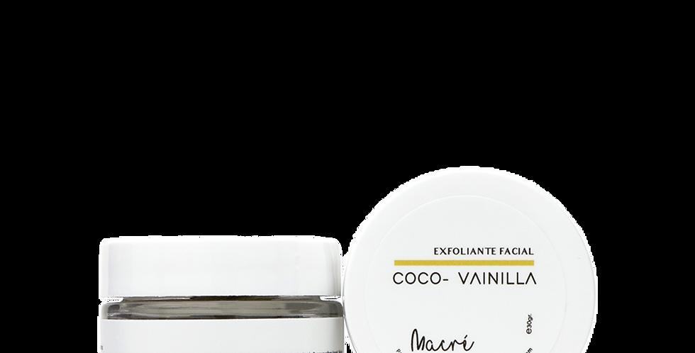 COCO-VAINILLA -exfoliante facial-