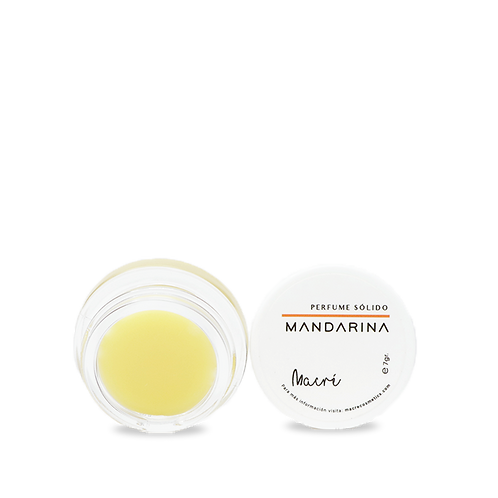 MANDARINA –perfume sólido-