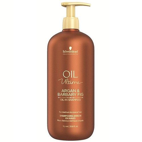 Oil Ultime - Шампунь для жёстких волос, 1000мл