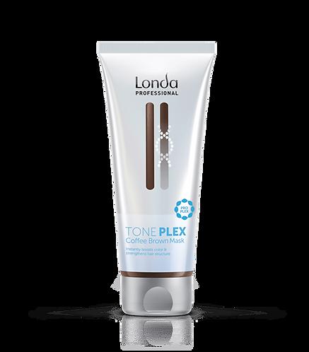 Londa Tone Plex - Маска коричневый кофе, 200мл