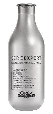 L'Oreal Silver - Шампунь для придания блеска седым волосам, 300мл