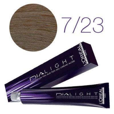 Loreal Dia Light - Краска для волос № 7.23 блондин перламутрово-золотистый