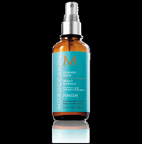 Moroccanoil Glimmer Shine - Спрей для придания волосам мерцающего блеска, 100мл