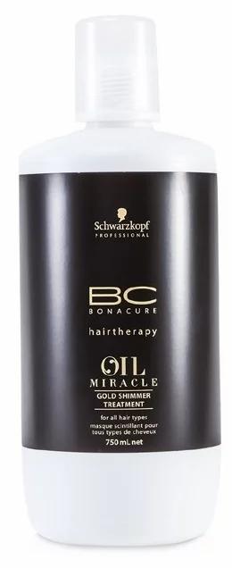 BC Bonacure Oil Miracle Argan oil - Маска для волос Золотое сияние, 750мл