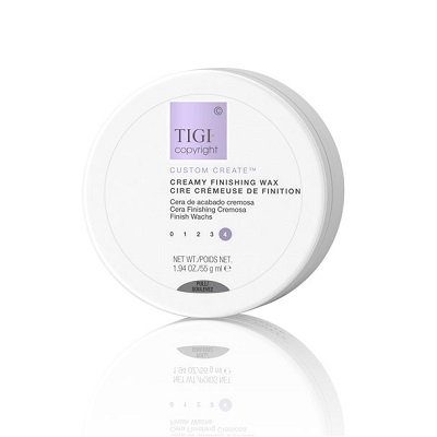 TIGI COPYRIGHT Custom Care CREAMY FINISHING WAX - Крем-воск для волос, 55гр
