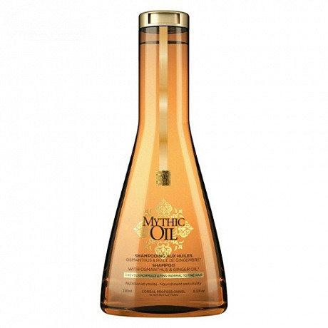 L'Oreal Mythic Oil - Шампунь для нормальных и тонких волос, 250мл