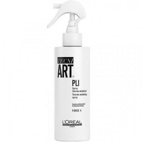 Loreal Tecni Art - Pli Spray - Термо-моделирующий спрей, 190мл
