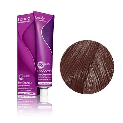 Londa - Стойкая крем-краска Tемный блонд натурально-коричневый 6/07 60ml
