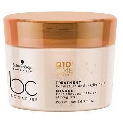 BC Q10+ Time Restore Treatment - Смягчающая маска для зрелых волос,200 мл