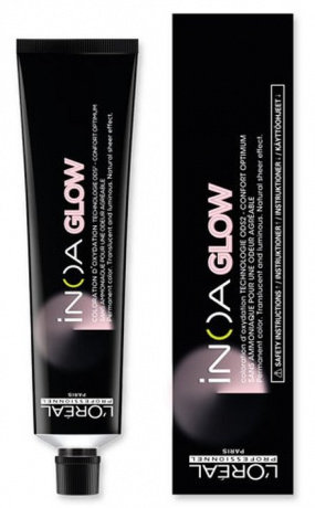 Loreal INOA GLOW - Краска для волос L.8 Карамель (светлая база), 60мл