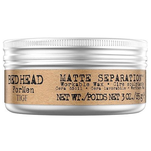 TIGI BED HEAD for MEN MATTE SEPARATION - Воск для волос, 85гр