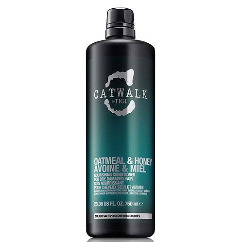 TIGI CATWALK OATMEAL & HONEY - Кондиционер для питания сухих ломких волос, 750мл