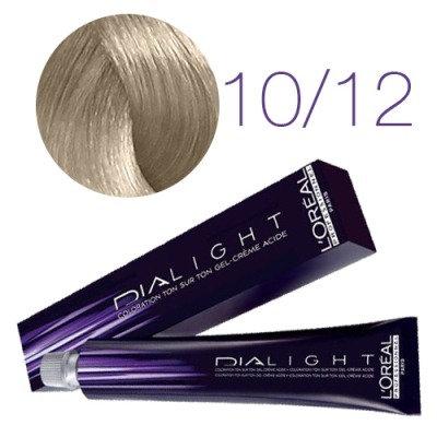 Loreal Dia Light - Краска для волос №10.12 молочный коктейль пепельно-перламутр