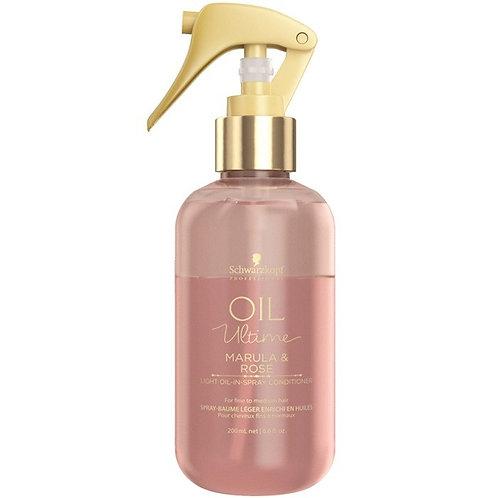 Oil Ultime - Спрей-кондиционер для тонких и нормальных волос, 200мл