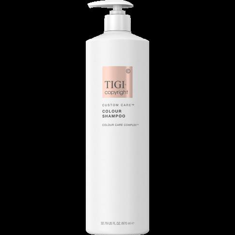 TIGI COPYRIGHT Custom Care Colour Shampoo - Шампунь для окрашенных волос, 970мл