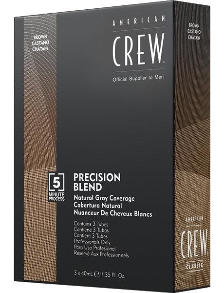 American Crew - Камуфляж седины, 4/5 натуральный, 3*40мл