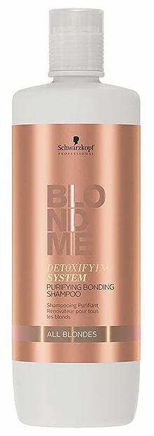 BlondMe - Очищающий бондинг-шампунь с детокс-системой, 1000мл