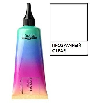 Loreal Colorful Hair - Краска для волос Прозрачный, 90мл