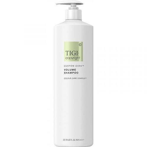 TIGI COPYRIGHT Custom Care Volume Shampoo - Шампунь для объема, 970мл