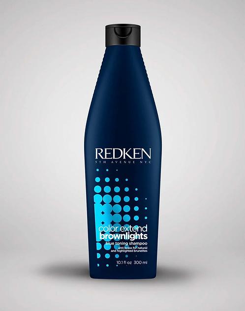 Redken Color Extend Brownlights - Шампунь для нейтрализации тёмных волос, 300мл