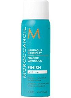 Moroccanoil Luminous Hairspray - Сияющий лак для волос эластичной фиксации, 75мл