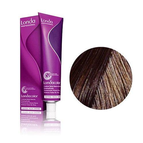 Londa - Стойкая крем-краска Tемный блонд коричнево-золотистый 6/73 60ml