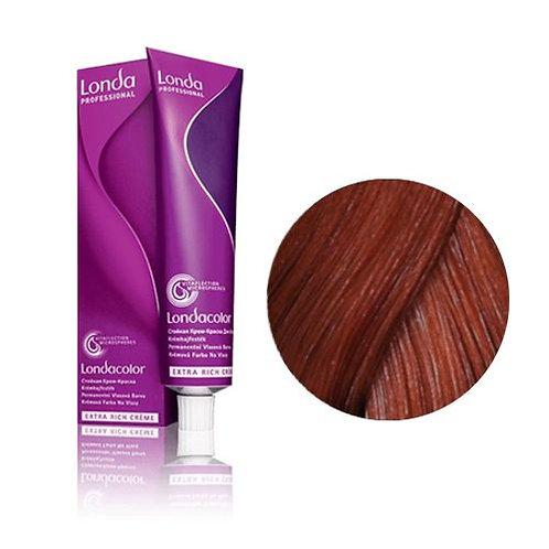 Londa - Стойкая крем-краска Londacolor Tемный блонд медно-золотистый 6/43 60ml