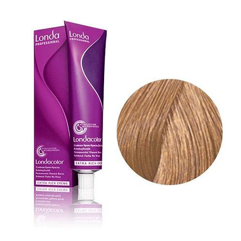 Londa - Стойкая крем-краска Londacolor светлый блонд золотистый 8/3 60ml