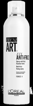 Loreal Tecni Art Fix Anti-Frizz - Спрей сильной фиксации с защитой от влаги