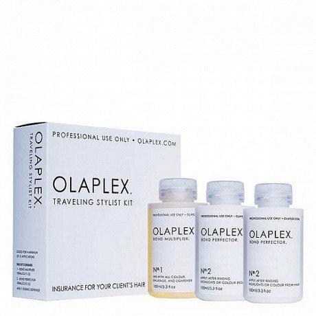 Olaplex traveling stylist kit - Набор стилиста, 3*100 ml