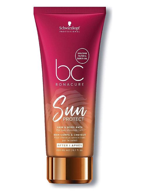 BC Sun Protect Hair & Body Bath - Шампунь для волос и тела,