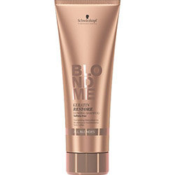 BlondMe Keratin Restore Shampoo - шампунь кератиновое восстановление, 250 мл