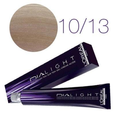 Loreal Dia Light - Краска для волос №10.13 молочный коктейль пепельно-золотистый
