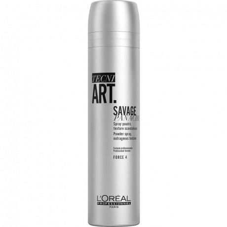 Loreal Tecni Art Savage Panache - Сухой спрей с пудровой текстурой 250ml