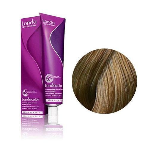 Londa - Стойкая крем-краска Londacolor блонд натурально-золотистый 7/03 60ml